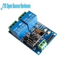 1pcs 5V ESP8266 ESP-01 2 Channel WiFi Relay Module 2-Channel Relay Modu