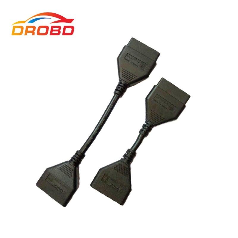 Nouveau 100% D'origine Lancement X431 Idiag Extension OBD16 pin câble Pour Idiag easydiag android ios/5C/V/PRO/GOL Livraison Gratuite