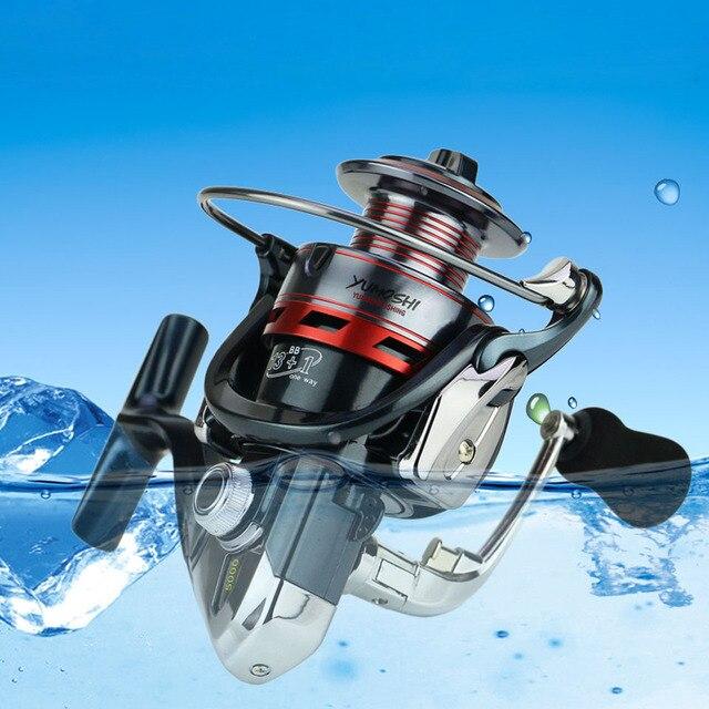 WALK FISH 13+1BB Spinning Fishing Reel Metal XS1000-7000 Series Spinning Reel Fishing Tackle 5