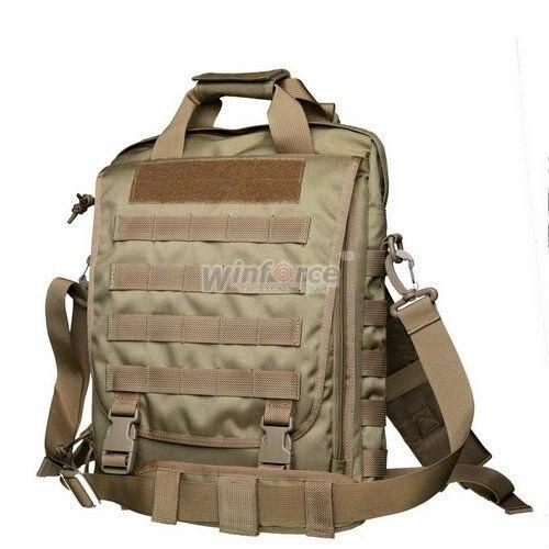 """Winforce Taktis/WS-22 """"Observer"""" Laptop 14 """"Vertikal Tas/100% Cordura/Kualitas Dijamin Militer dan Luar Ruangan Shoulder Bag"""