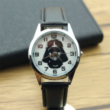 Cartoon Lovely Kids Girls Boys Children Students Quartz Wrist Watch Very Popular watches Star Wars style