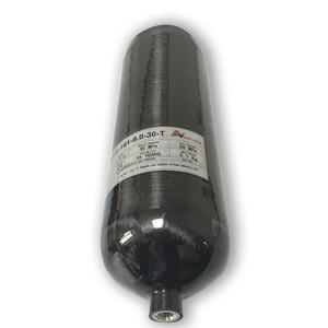 Image 3 - Ac3090 acecare 새로운 9l 4500psi 300bar 최신 paintball/pcp/hpa 탱크 드롭 쇼핑을위한 복합 co2 탄소 섬유 가스 실린더