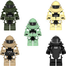 1PC Moder Fighters Word War Anti-explosion Clothing Armor Weapon Shield Accessories Building Blocks Brick Accessories