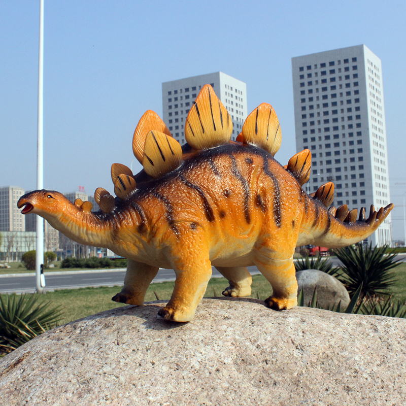 Large Size Stegosaurus Simulation Model of Animal Model Toy Dinosaur Plastic Dolls Dinosaur Models Solid Construction Kids Gifts чистящее средство topperr набор очиститель экранов жк tft lcd салфетка