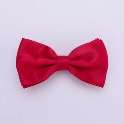 HUISHI, однотонный мужской галстук-бабочка, 50 шт. в партии, одна сумка, модные галстуки-бабочки, черный, золотой, белый галстук-бабочка, красный, ...