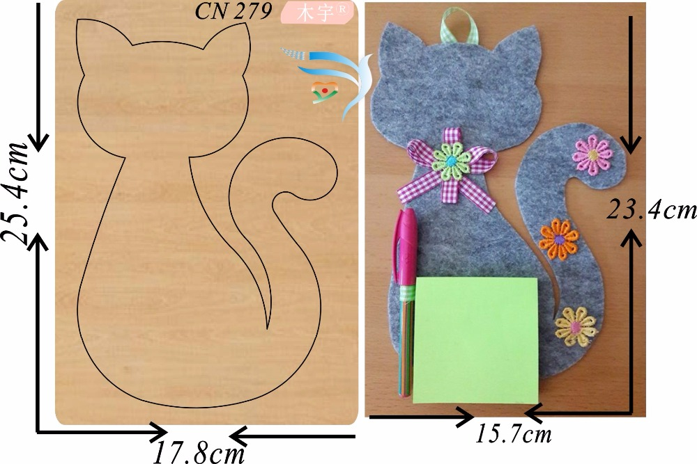 Big Cat Pendant new wooden mould cutting dies for scrapbooking Thickness 15 8mm