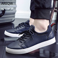 Men Casual Shoes Black White Flat Outdoor Wariking Saft Shoes The Autumn New Men's Casual Shoes Korean Fashion Trend Quality