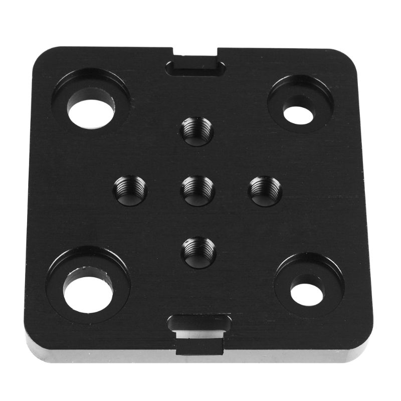 Mini <font><b>V</b></font> Gantry Plate Durable Metal Special Slide Plate for <font><b>2040</b></font> <font><b>V</b></font>-<font><b>slot</b></font> Aluminum Profiles for Openbuilds 3D Printer Parts Accessor image