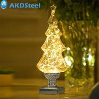 AKDSteel Creative Wishing Tree Shape Stars Light Bright LED USB Decorative Romantic Lighting For Christmas New