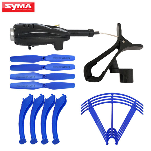SYMA X5H Series Wifi Camera And Phone Clip Holder Propeller blades Protective...