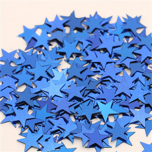 Hot !1000PCS/Bag 10mm Five-Pointed Star Scatters Confetti Gold Silver 10MM Star Paper Scrap Wedding Party Table Decoration