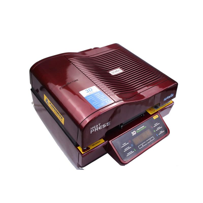 Good Cheap ST-3042 Digital 3D Sublimation Heat Transfer Machine 3D Vacuum Heat Press Machine For Cases Mugs Plates Wine Glasses