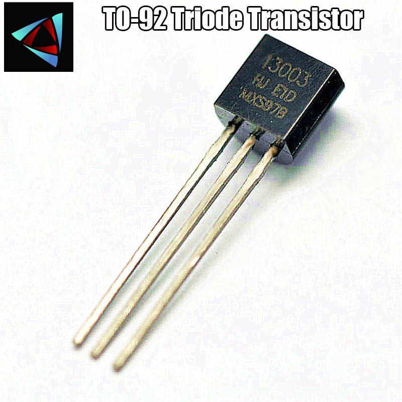 50pcs/lot MJE13003 to126 NPN transistor 13003 TO126 field