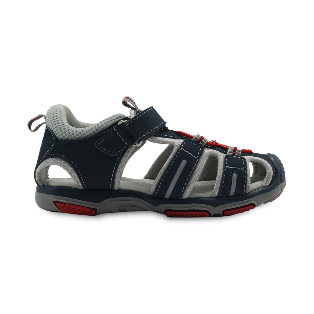 556d5c9329c33 Apakowa Boy s Summer Beach Sandals Kids Closed Toe Shoes with Arch Support  Toddler Children s Classic Sports Sandals for Boys-in Sandals from Mother    Kids ...