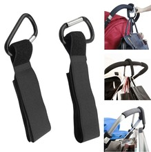 New 1pcs Stroller Hooks Wheelchair Pram Carriage Bag Hanger Hook Baby Strollers Shopping Clip Accessories