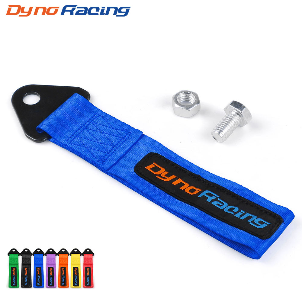 Dynoracing Racing Car High Quality Tow Strap/tow Ropes/Hook/Towing Bars (red Blue Purple Orange Black Yellow Green)