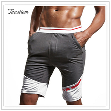 Mew Men Summer Casual Knee Length Sweatpants Male Cotton Sprts Slacks Pants Men Leisure Fitness Short Pants Man Home Shorts