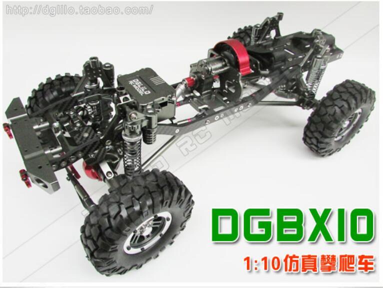 Axial scx10 chasis 1/10 RC Rock crawler upgrade kit chasis CNC ...