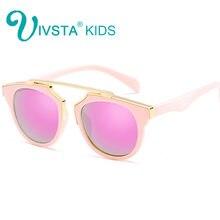 Ivsta модные детские солнцезащитные очки для девочек взрослых