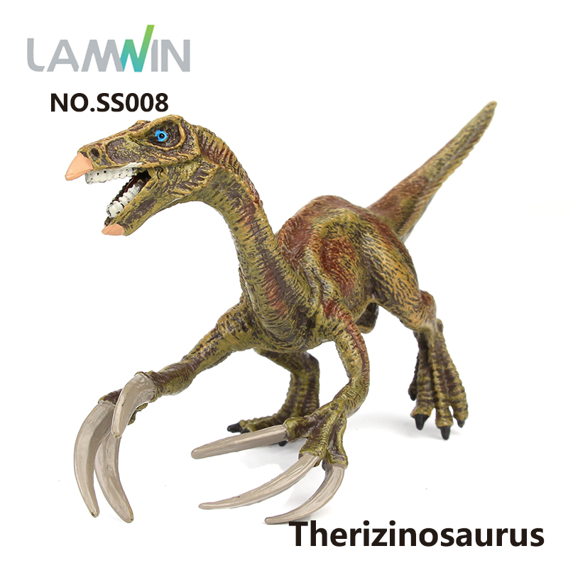 Lamwin Small Size Plastic PVC Realistic Jurassic Dinosaur Collection Toy Model Action Figure For Kids 5pcs lot dinosaur eggs park classical dinosaur action figure toy for collection dinosaur model y13
