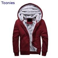 Sudaderas Para Hombre 2018 Fleece Mens Hooded Sweatshirt Zipper Tracksuit Hoody Man Outerwear Sudadera Hombre Hoodie