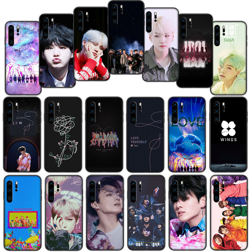 Korean Boys Love Yourself Soft Cover <font><b>Case</b></font> for <font><b>Huawei</b></font> P30 <font><b>P20</b></font> P10 <font><b>Lite</b></font> Pro P <font><b>Smart</b></font> 2019 image
