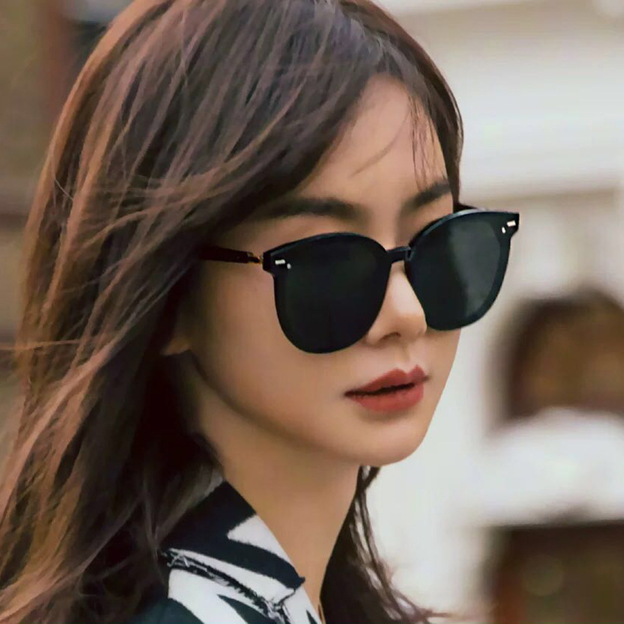 2019 Korean Gentle Monster Women Sunglasses East Moon Fashion Lady Elegant Cat Eye Sunglass Woman Retro Sunglasses Original Pack