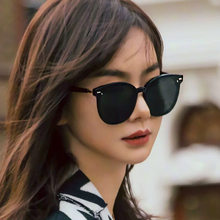 2019 Korean Gentle Monster Women Sunglasses East Moon Fashion Lady Elegant Cat Eye Sunglass Woman Retro Sunglasses Original Pack()