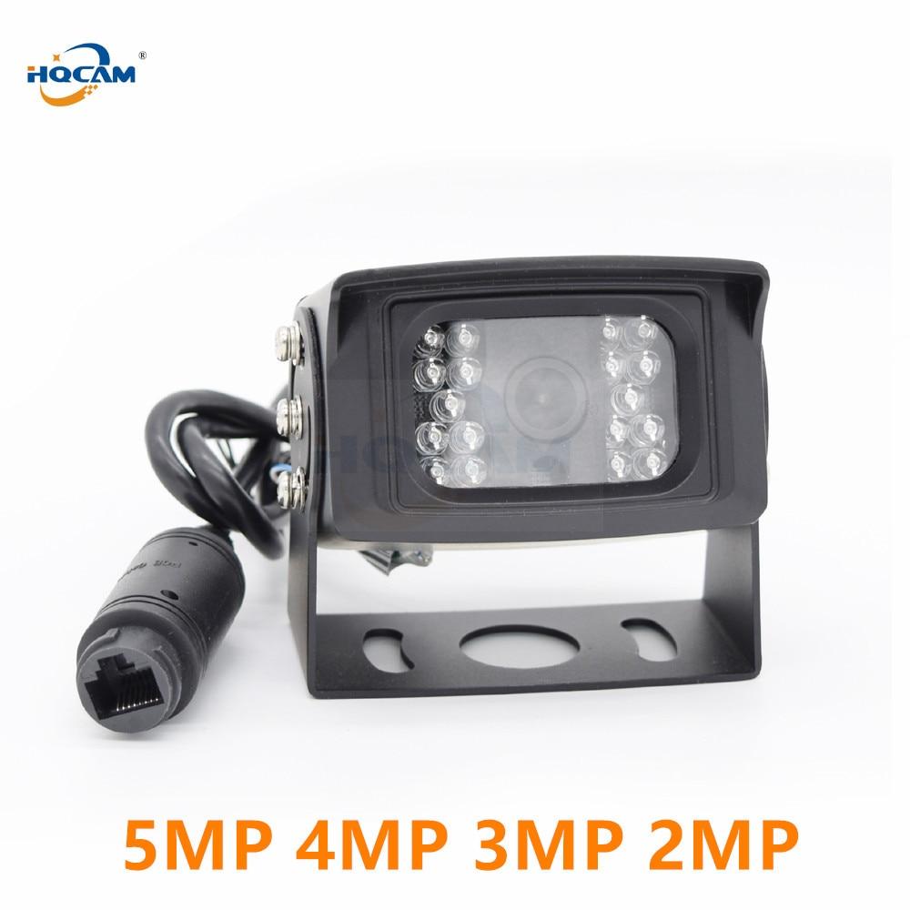 HQCAM POE 5MP 4MP 3MP 2MP Night Vision IP CAMERA IR 18pcs Leds Waterproof Outdoor BUS Camera Onvif Mini Ip Camera Bus Video cam|Surveillance Cameras| |  - title=