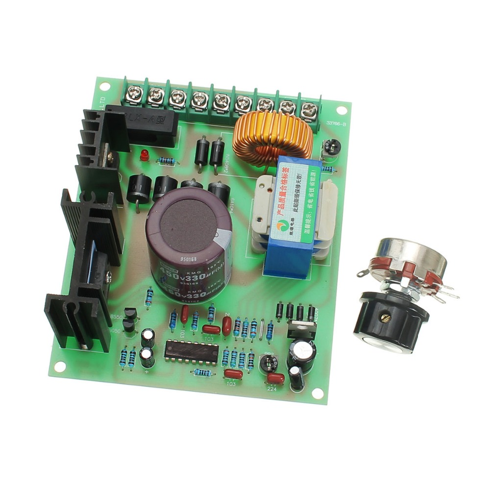 220V DC Motor Speed Regulator Permanent Magnet Excitation PWM Drive Controller Board 10 30v 100a 3000w programable dc motor adjustable speed controller regulator pwm control reversible electric motor vibrator