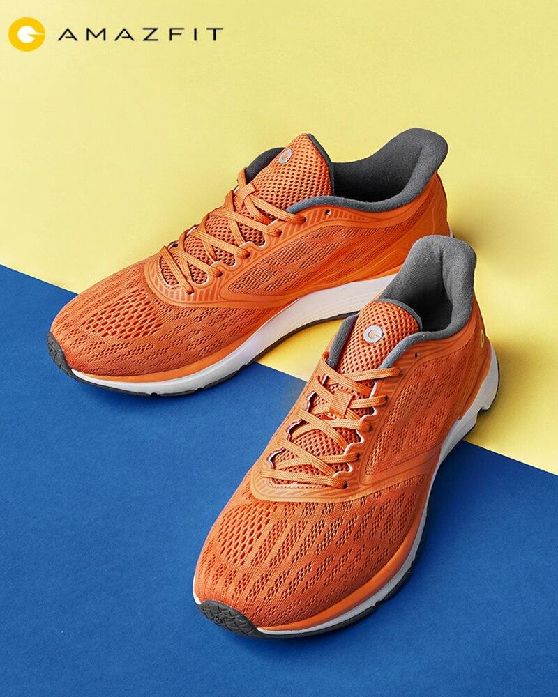 Original Xiaomi Amazfit antilope Sports de plein air chaussures de course hommes baskets soutien MiJia2 puce intelligente