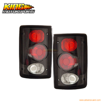 For 2000 2006 Ford Excursion 95 06 Econoline Tail Lights Black USA Domestic Free Shipping