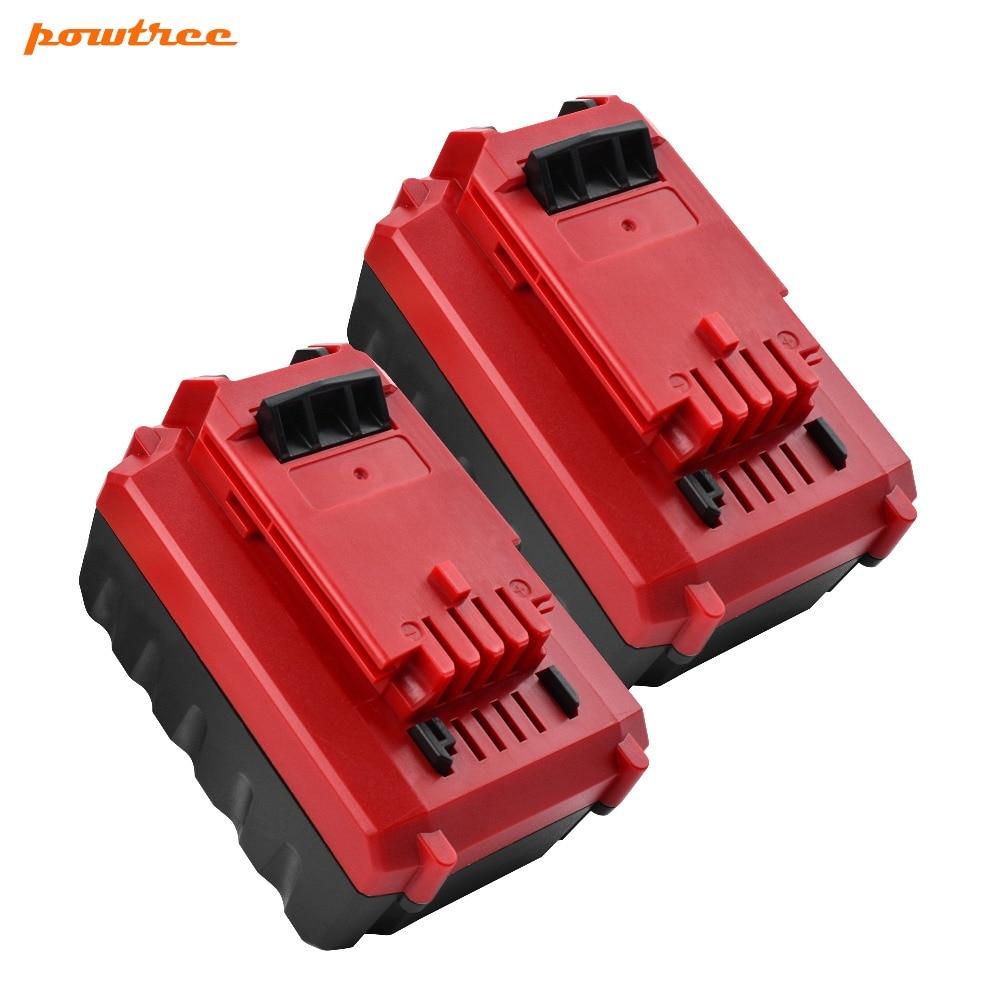 2 PAQUETS 20 V 5000 mAh Li-ion PCC685 Batterie Rechargeable Pour Porter-Cable PCC685L PCC680L PCC682L PCC681L PCC600 80Wh L102 PAQUETS 20 V 5000 mAh Li-ion PCC685 Batterie Rechargeable Pour Porter-Cable PCC685L PCC680L PCC682L PCC681L PCC600 80Wh L10