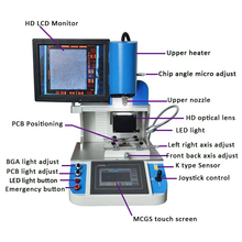 Automatic WDS-700 IC remove and Repair machine for Iphone Samsung and more iphone icloud remove machine