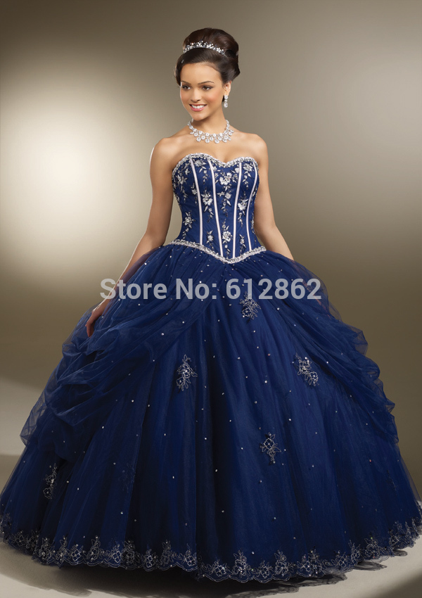Online Buy Wholesale prom dresses dark blue from China prom ...