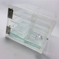 Hot Sale Eyelashes Extension Holder Acrylic Material Lashes Shelf Box Makeup Tool Kit For Beauty Salon