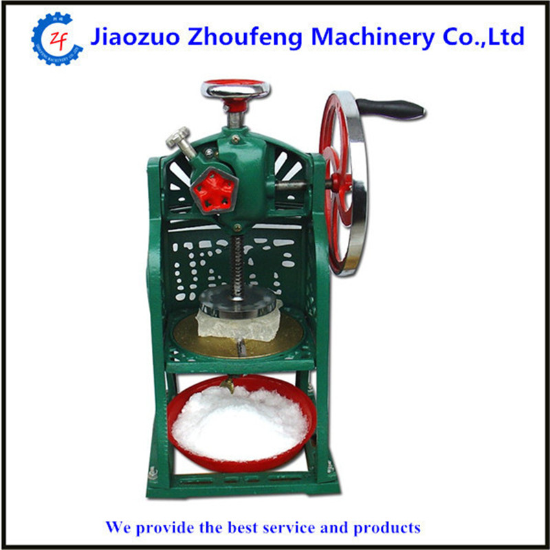 Ice crusher snow ice shaving machine easy operation high quality home use summer ice food making machine ice crushing machine ZF