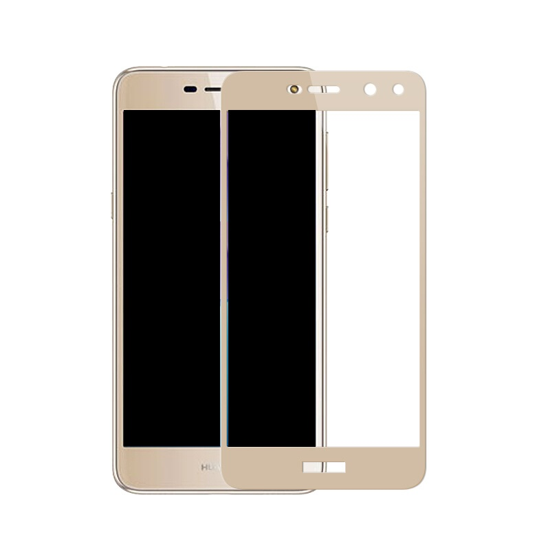 Full cover Tempered Glass For HUAWEI Y5 2017 Y5 3 Y53 5 inch screen  protective smartphone toughened black White frame display