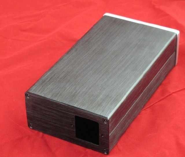 1005 Aluminium Amplifier Chassis/Digunakan Amplifier/DAC Decoder/Power Supply/Amp Lampiran/Kasus /DIY Kotak (200*50*102 M)