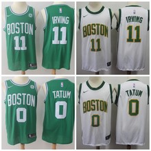 c31f2487021 Free shipping A+++ quality Mens Adult  11 Kyrie Irving 33 Larry Bird 0  Jayson Tatum Jersey and short Boston