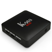 New KM8 Pro Android Wifi TV box with 8CPU 2GB RAM and 8GB ROM Portable Wifi TV Stick 100M 4K TvBox Android 6.0 Family TV Center