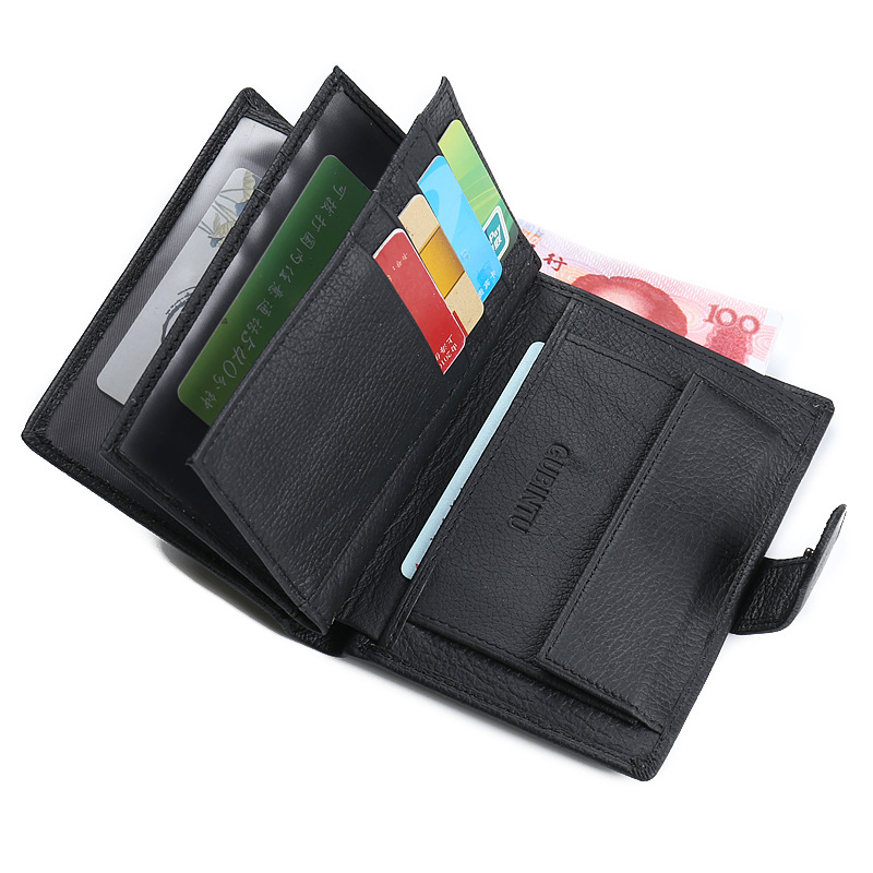 2018 GUBINTU Document Wallet Cowhide Leather Handy Bag Genuine Leather Money Purse Coin Pocket Vintage Design Card Holder gubintu genuine leather men wallet small brand vintage coin purse slim cowhide leather short card holder bid186 pm49