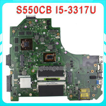 S56C K56CB S550C S550CM S550CB Motherboard K56CM REV2.0 mainboard With i5-3317U GT740 2G 100% Tested