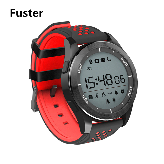 fuster stopwatch sport waterproof smart watch chronograph fitness tracker smartwatch call and message alert swimming bt