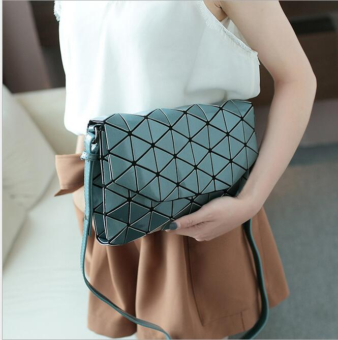 2017 Fashion Diamond Women Bags Geometry Quilted baobao Handbag bag Women Geometric tote Quilted Laser crossbody Shoulder Bag 2015 hot fashion top top quality same as baobao 1 1 women s lattice geometry quilted handbag geometric mosaic totes bag6 6