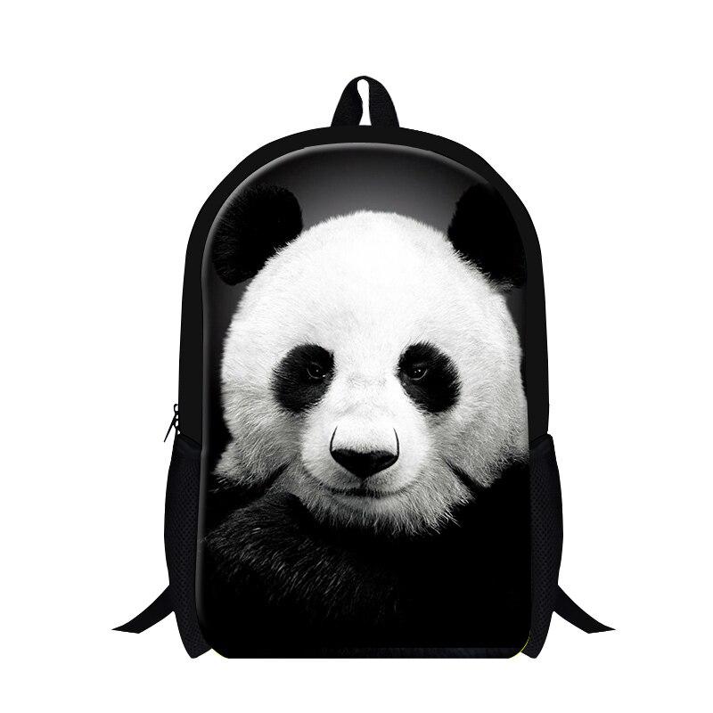 318a007683479 2019 panda baskı okul erkekler için sırt çantası sevimli hayvan çanta çocuk  kız için geri paketleri travling bagpack okul çantalarını mochilas