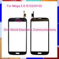 Черный Белый Новый Для Samsung Galaxy Mega 5.8 i9150 i9152 сенсорный Экран Сенсорный Панели Дигитайзер Датчик Переднее Стекло Объектива Отслеживания код