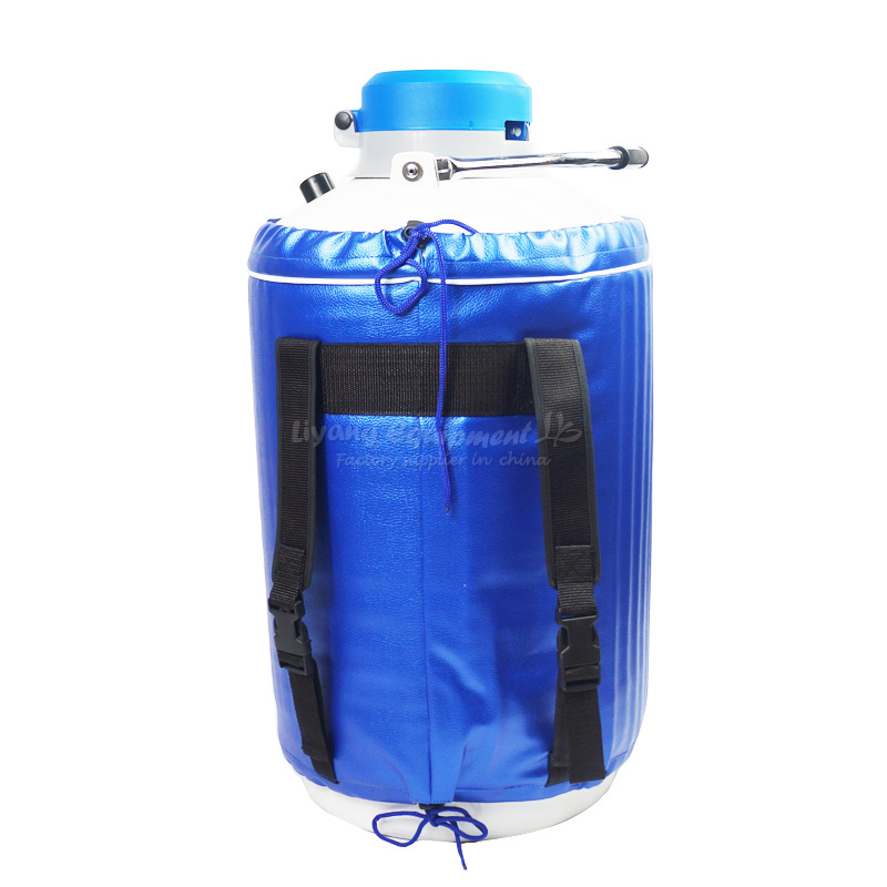 10L liquid nitrogen tank gas tank for LCD Separator Machine lcd touch screen separating machine ly fs 06 frozen separator use liquid nitrogen
