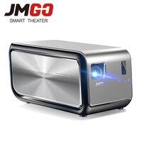 JmGO J6S печать цифровым проектором проектор Android 1100 ANSI люмен 1080 P 1920x1080 WI FI HDMI Bluetooth 3D видео 4k Proyector домашний Кино проектор