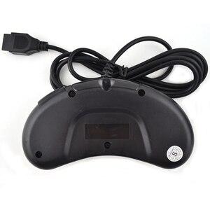 Image 5 - 2 قطعة أذرع التحكم في ألعاب الفيديو ل SEGA نشأة ل 16 بت مقبض تحكم 6 زر غمبد ل SEGA MD لعبة اكسسوارات